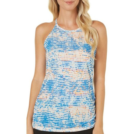 Spalding Womens Paint Print Studio Tank Top
