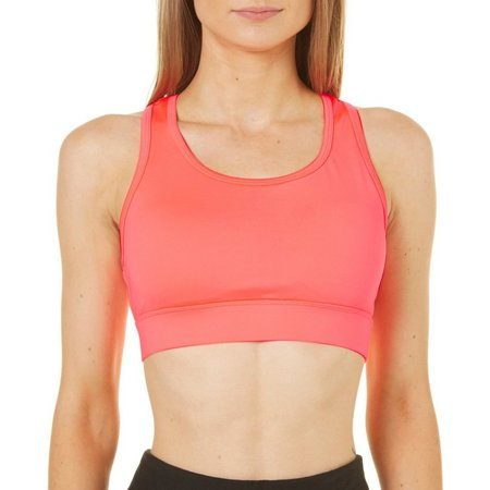 Spalding Womens Cutting Edge Medium Impact Sports Bra
