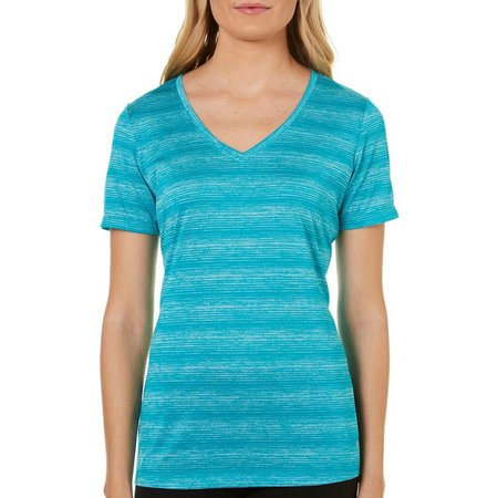 Spalding Womens Oombre Stripe Active T-Shirt