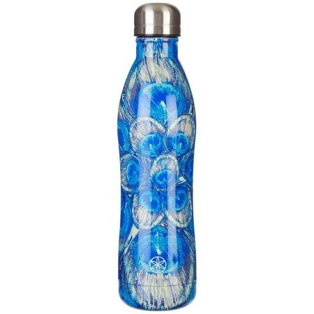 Gaiam 17 oz. Peacook Stainless Steel Water Bottle