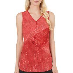 Sami & Jo Womens Gomez Tie Dye Embellish