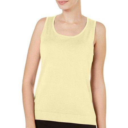 August Silk Womens Sleeveless Shell Tank Top