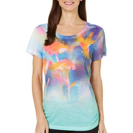 Dawn Davis Womens Humming Bird T-Shirt