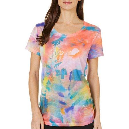 Dawn Davis Womens Hot House Flower T-Shirt