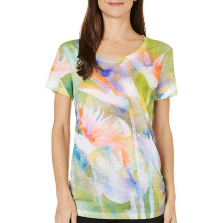 Dawn Davis Womens Bird Of Paradise T-Shirt