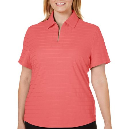 Coral Bay Energy Plus Textured Stripe Shirt