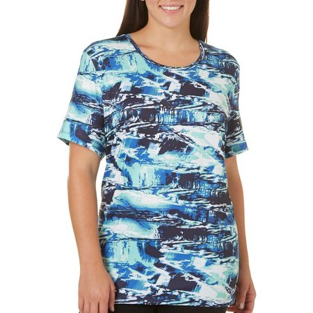Coral Bay Plus Energy Water Print T-Shirt