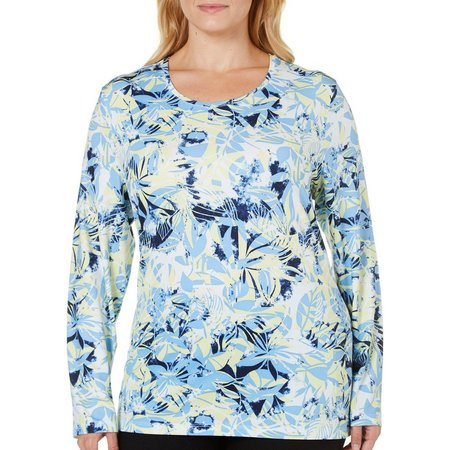 Coral Bay Plus Energy Mixed Leaves Top