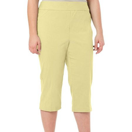 Coral Bay Plus Millennium Crop Capris