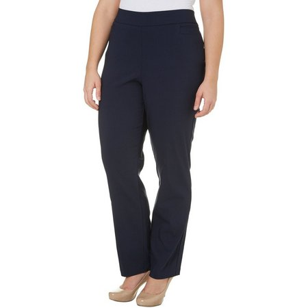 Coral Bay Plus Solid Pull On Millennium Pants