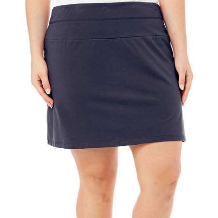 Coral Bay Plus Solid Skort