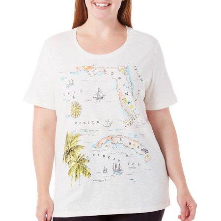 New! Coral Bay Plus Havana Gulf Map Print
