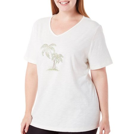 New! Coral Bay Plus Havana Embellished Palm Tree
