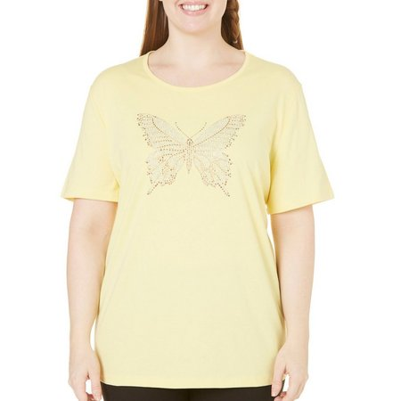 Coral Bay Plus Natural Coast Butterfly Top