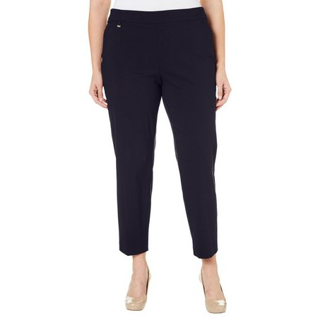 Counterparts Plus Pull-On Stretch Ankle Pants