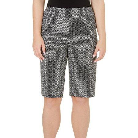 Counterparts Plus Chevron Print Skimmer Shorts