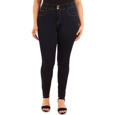 Angels Plus Onyx Curvy Skinny Jeans