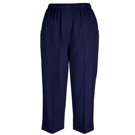 Alia Plus Microfiber Pull On Capris