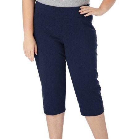 Alia Plus Tech Stretch Tummy Trim Capris