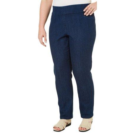 Alia Plus Tech Stretch Slim Leg Pants