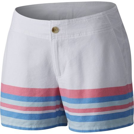 New! Columbia Plus Solar Fade Stripe Shorts