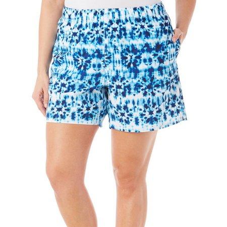 Reel Legends Plus Tie Dye Shorts