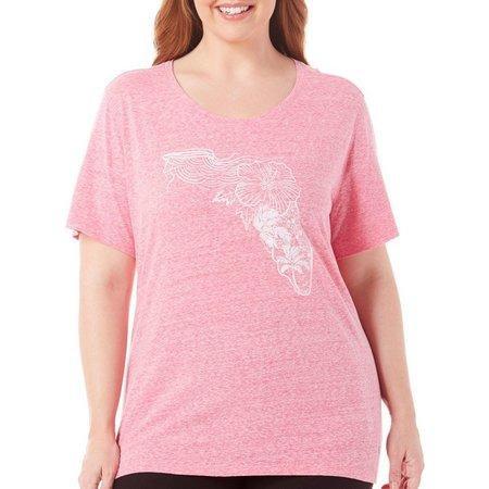 Reel Legends Plus Florida Graphic T-Shirt