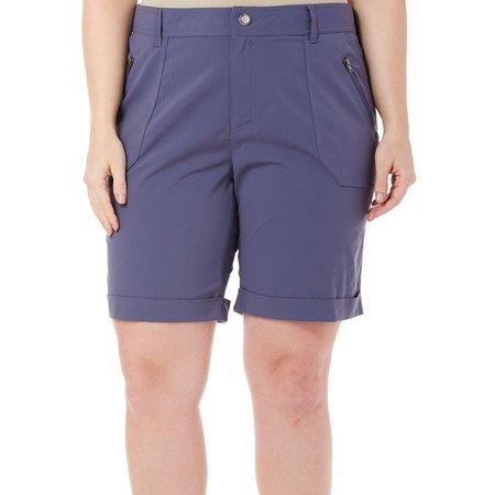 Reel Legends Plus Solid Voyager Bermuda Shorts