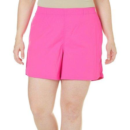 Reel Legends Plus Solid Woven Shorts