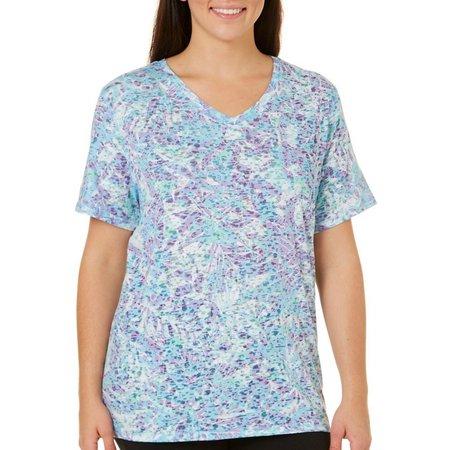 Reel Legends Plus Reel Fresh Burnout Bloom T-Shirt
