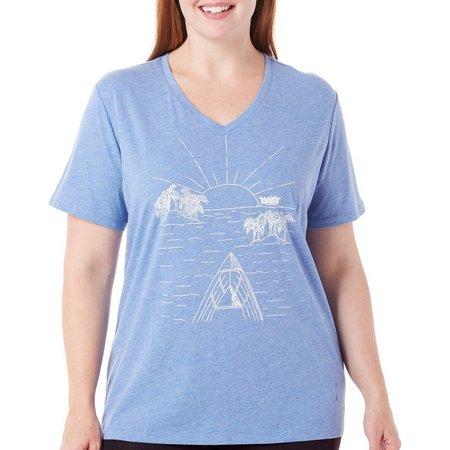Reel Legends Plus Islands Graphic T-Shirt