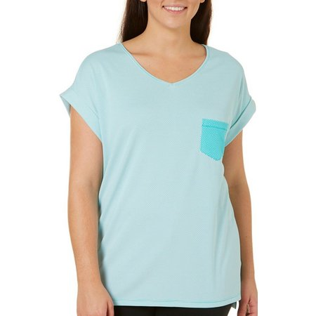 Brisas Plus Stripe Dolman T-Shirt