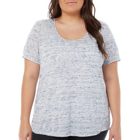 Balance Plus Flared Scoop T-Shirt