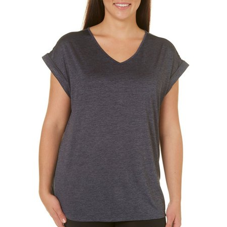 Brisas Plus Drop Shoulder Dolman T-Shirt