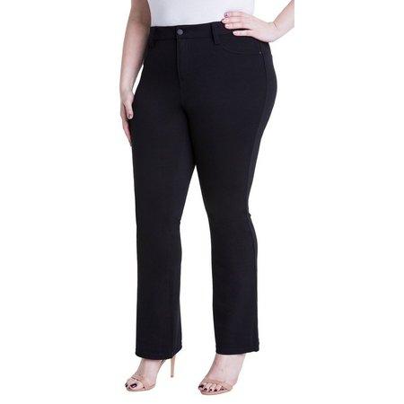 Celebrity Pink Plus Stretch Ponte Bootcut Pants