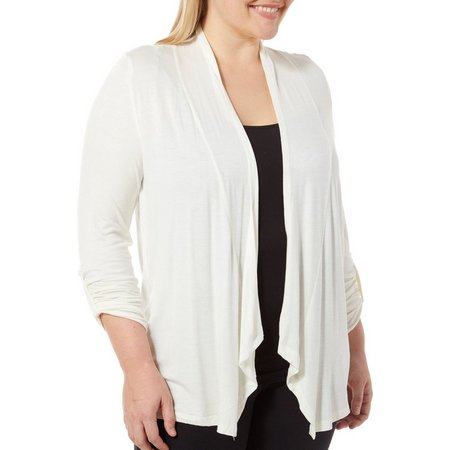 Derek Heart Juniors Plus Sharkbite Cardigan