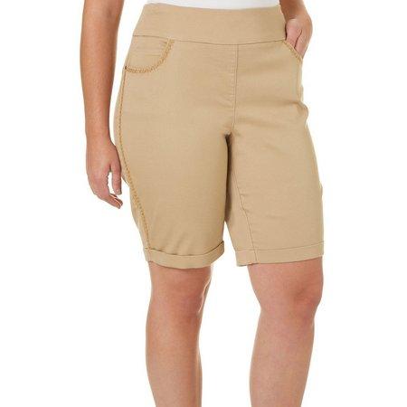 Dept 222 Plus Essentials Super Stretch Shorts