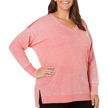 Dept 222 Plus Spring Awakening Lace Back Sweater