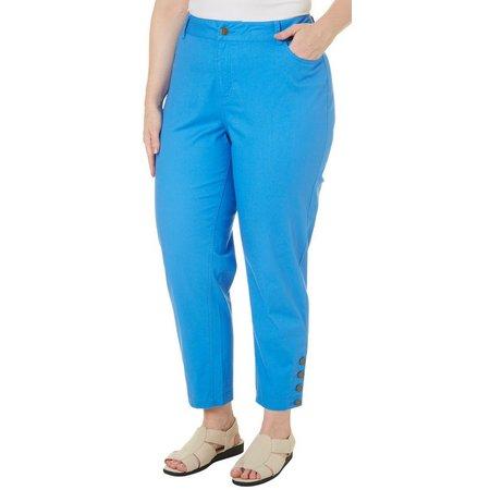 Caribbean Joe Plus Slim Leg Pants