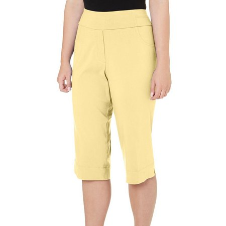 Alfred Dunner Plus Stretch Capris