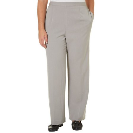 Alfred Dunner Plus Classic Fit Prop Medium Pants