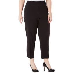 Alfred Dunner Plus City Life Pull-On Pants