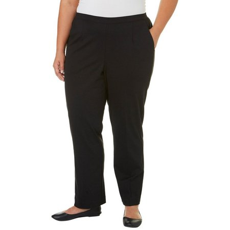 Alfred Dunner Plus Classic Fit Medium Pants