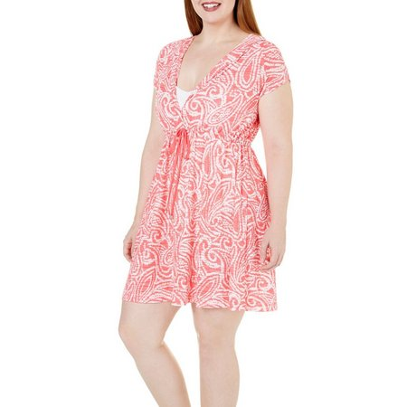 Wearabouts Plus Beach Bombshell Hoodie Cover-Up