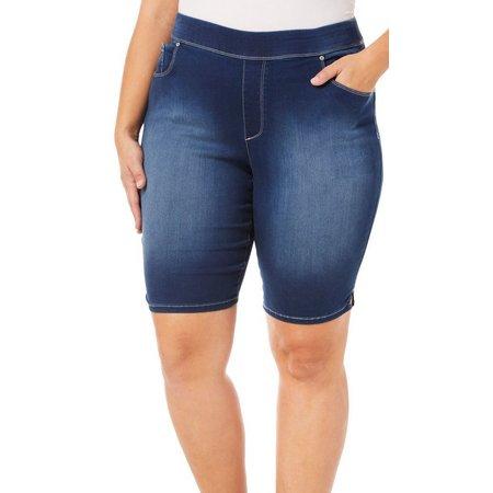 Gloria Vanderbilt Plus Avery Pull-On Bermuda Shorts