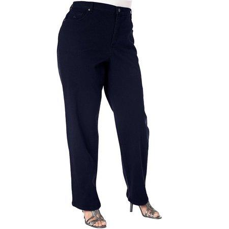 Gloria Vanderbilt Plus Amanda Solid Stretch Jeans