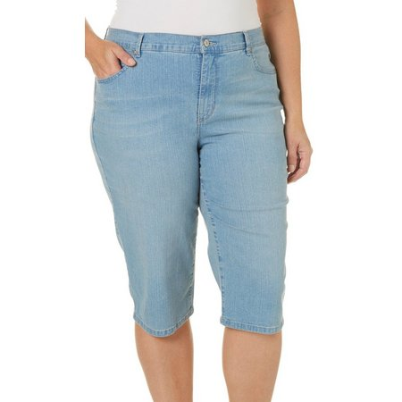 Gloria Vanderbilt Plus Amanda Skimmer Shorts