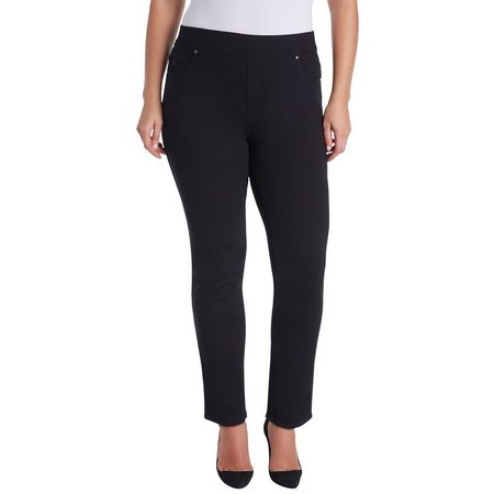 Gloria Vanderbilt Plus Avery Pull-on Slim Pants