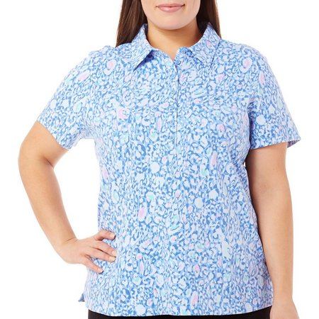 Gloria Vanderbilt Plus Annie Polo Shirt