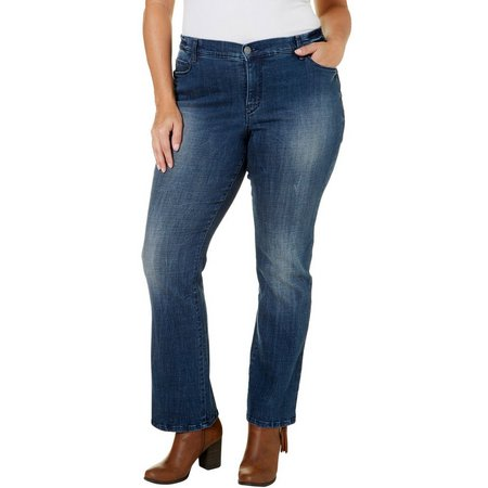 Gloria Vanderbilt Plus Jordyn Embroidered Jeans